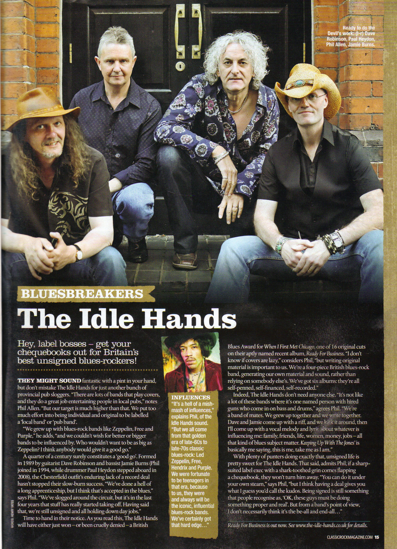 Classic Rock Presents The Blues Issue 3